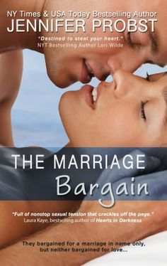 The Marriage Bargain--- COULD NOT PUT IT DOWN!