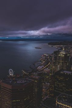 Sky View Observatory Columbia Center, #Sky #Cloud #Observatory #Sunset Storm, Sea, Ocean - Follow @extremegentleman for more pics like this!
