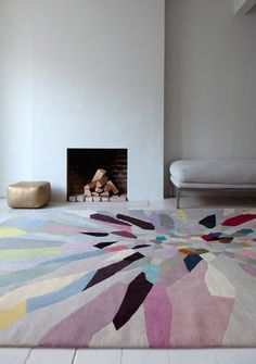 ZAP rug by Fiona Curran.  The Rug Company.