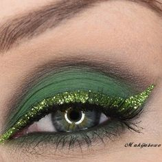Elphie inspired eye makeup