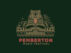 Pemberton Music Festival Bear  by Brian Steely