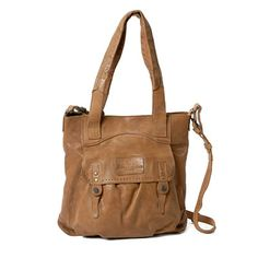 A&U Peppermint bag Honey, aunts and uncles #leather #tote, resoul.com