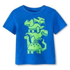 Toddler Boys' Dino Tee - Capri Blue