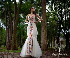 Novias Cocó Paloma Moda Mexicana.