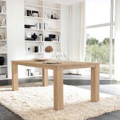 tavolo allungabile rettangolare in legno massello storia by domus ... - Tavolo Da Cucina Allungabile Rettangolare