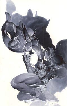 Wolverine vs Deadpool by ChristopherStevens on DeviantArt