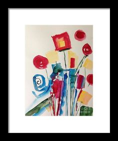 Abstract Part 1 Framed Print by Britta Zehm. All framed prints are professionally printed, framed, assembled, and shipped within 3 - 4 business days and delivered ready-to-hang on your wall. Choose from multiple print sizes and hundreds of frame and mat options.
