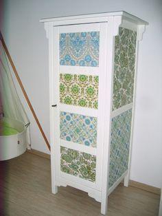 vintage wallpaper idea