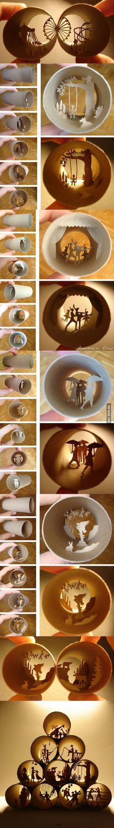 9GAG Toilet Paper Roll Art by Anastassia Elias