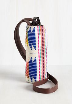 Made to Your Hiking Bottle Tote in Geometric. Your treks are about to get a lot more stylish with this woven water bottle tote at your side! Summer Hiking Outfit, Water Bottle Holders, Indie Outfits, Hiking Backpack, Modcloth, Home Gifts, Boho Decor, Retro Vintage, Vintage Outfits