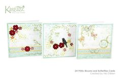 2H1900c Blooms and Butterflies Cards