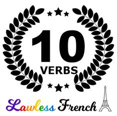 You can't expect to master #French verb conjugation overnight. So keep it simple. Work on these 10 essential French verbs first. #lawlessfrench #learnfrench French Learning Books, Teaching French, Learning Spanish, French Verbs, French Grammar, French Articles, Teacher Boards, French Classroom, French Teacher