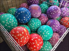 I found these very open Wire Mesh containers a pleasing and highly visual way to display Balls in Bins. And considering the name of the Museum, they really are Touch Me Balls in a Bin Museum Shop, Touch Me, Easter Eggs, Balls, Display, Billboard
