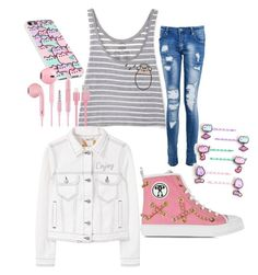 """Cats"" by bumsteadbailey on Polyvore featuring Moschino, Pusheen, Boohoo and MANGO"