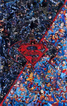 Batman vs Superman by Mr Garcin - 2016 https://www.facebook.com/Mr-Garcin-130673103658037/