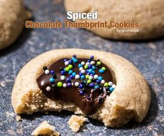 Spiced Chocolate Thumbprint Cookies are always a hit at any occasion. The gooey chocolate ganache filling is to die for!
