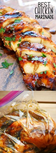 Amazing Look no further for the Best Chicken Marinade recipe ever! This easy recipe is s. Look no further for the Best Chicken Marinade recipe ever! This easy recipe is sure to become your new favorite! Moist chicken and amazing flavor! Chicken Marinade Recipes, Recipe Chicken, Best Grilled Chicken Marinade, Marinade Sauce, Quick Marinade For Chicken, Overnight Chicken Marinade, Chicken Breast Marinades, Summer Chicken Recipes, Healthy Grilled Chicken Recipes