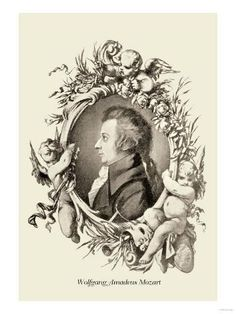 Buyenlarge 'Wolfgang Amadeus Mozart' by Theodore Thomas Photographic Print Vintage Prints, Vintage Art, Amadeus Mozart, Painting Prints, Art Prints, Music Composers, Music Images, Classical Music, Wonderful Images