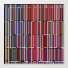 Re-Created CornerStone3-21-14 #Stretched #Canvas by #Robert #S. #Lee - $85.00