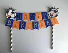 personalized party decorations by ARTdiCARTA on Etsy