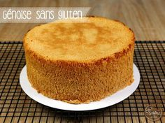 Gluten-free Genoise of Féerie cake: 4 eggs 120 g of sugar 70 g of Patisserie Vegan, Patisserie Sans Gluten, Gluten Free Cooking, Vegan Gluten Free, Gluten Free Recipes, Gluten Free Sponge Cake, Gluten Free Cakes, Bolo Zero Lactose, Lactose Free