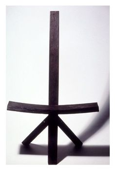 Black Stave chair by Humphrey Ikin.