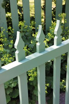 White Picket Fence, Picket Fences, Fence Gate, Fencing, Building Furniture, Cottage Exterior, Outdoor Chairs, Outdoor Decor, Wooden Fence