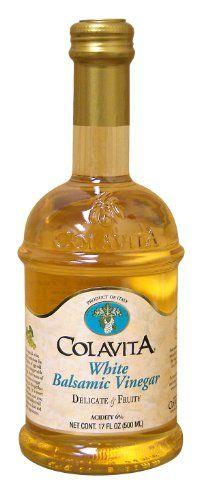 COLAVITA VINEGAR BALSMC WHITE, 16.9 OZ >> Find out more details @: at Baking Ingredients.