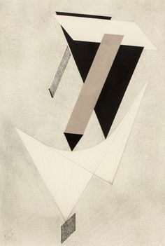 "kafkasapartment: ""Proun III, 1923. El Lissitzky (Lazar Markovich Lissitzky)…"