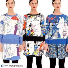 Moomin dresses by Ivana Helsinki <3
