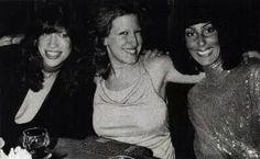 Miss M with Carly Simon & Cher
