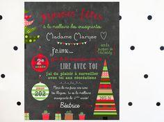 Carte de remerciement de Noël pour professeur, éducatrice_FICHIER NUMÉRIQUE, cadeau de professeur, cadeau de garderie, cadeau de Noël