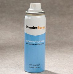 Does your dog or cat ever need a chill pill? Give pheromones a try! ThunderSpray is a quick spritz that mimics a pet's mother's natural pheromones and provides soothing fragrances of lavender and chamomile. Enter to win one for your pet!