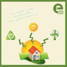 Hanımlar, evinizde güneş enerjisinden nasıl yararlanabilirsiniz, gelin bakalım: http://on.fb.me/141o3oO