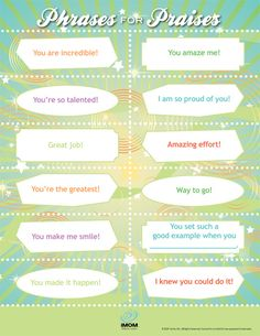 Compliments for kids can build them up and help them feel a mother's love. Pick from this list of compliments and tell your child one of these today. Social Work, Social Skills, You Are Incredible, Lunch Box Notes, Bed Wetting, Raising Kids, Self Esteem, Parenting Hacks, Parenting Articles