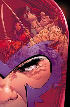 Astonishing X — Uncanny X-Men by Greg Land
