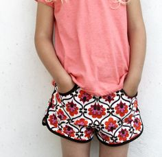 Prefontaine Shorts by Groovybaby and mama