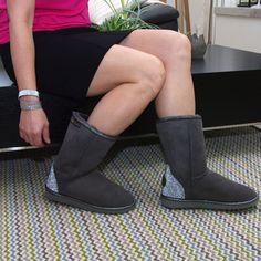 Swarovski Crystal Sheepskin Ugg Boots - Grey http://www.uggbootsmadeinaustralia.com.au/Swarovski-Crystal-Sheepskin-Ugg-Boots-Grey.aspx