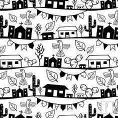 Estampa Xilogravura, de Skizze | Design Criativo. Art Impressions, Best Logo Design, Arte Popular, Posca, Cool Logo, Art Images, Printmaking, Embroidery Patterns, Tatoos