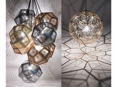Tom Dixon's lighting creations.