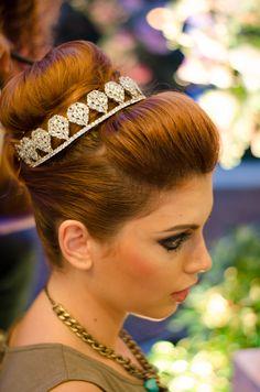 Penteado: Angélica Silva Tiara: Mais que noiva Foto: David Arrais  #makeup #noiva #beauty #dianoiva #vemproprya #prya #belezadanoiva #Noivasrio #Joutjout