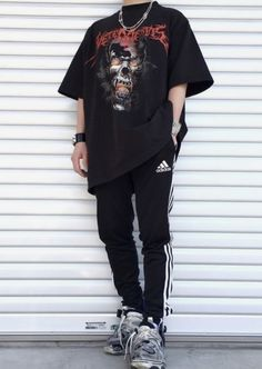 Grunge Outfits, Edgy Outfits, Cool Outfits, Fashion Outfits, Aesthetic Fashion, Aesthetic Clothes, Goth Outfit, Vetement Fashion, Streetwear Fashion