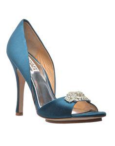 BADGLEY MISCHKA | Gia Embellished Heels in Blue - Women - Style36  #style36 #xmasshopping #wishlist