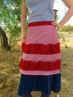 Egg gathering apron made to order