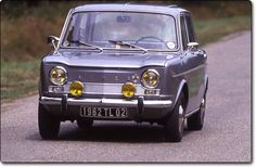 Simca 1000 1963? Ik kocht mijn eerste auto, deze simca, in 1968
