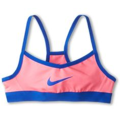 Nike Kids Victory Swoosh Bra (Little Kids/Big Kids) Buy Nike Kids, Kids Girls, Victorious, Nike Shoes, Kids Shop, Fashion Outfits, My Style, Cobalt, Pink
