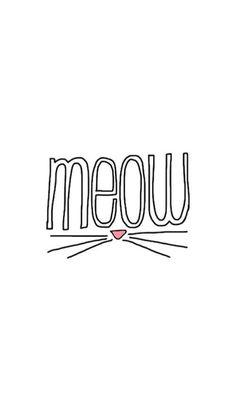 wallpapers art cat chat meow miaou