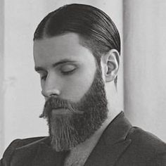 Just imagine this photo in color - that red hair! That beard!