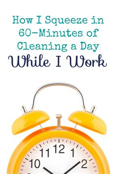 How I Work and Clean My House at the Same Time