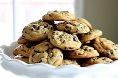 Chocolate chunk cookies, Cookies and Chocolate on Pinterest